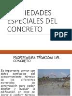 propiedades especiales del concreto