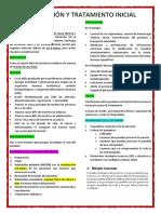 Evaluación y Tratamiento Inicial ATLS