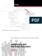 Chap 3 - Leadership and the Sales Executive