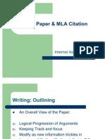 Term Paper & MLA Citation