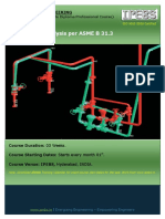 Pipe Stress Analysis Per ASME B 31.3