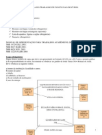 Estrutura de TCC - Inform Tic A