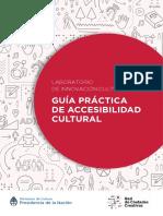 Manual de Accesibilidad en Contenidos Culturales