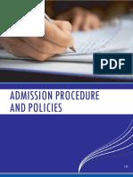 Admission Procedures