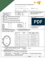 Child Dental Examination Form