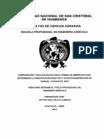 Tesis Evapotranspitacion Una Puno Peru