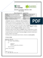 Lenguaje C++. Funciones con parámetros y Funciones repetitivas