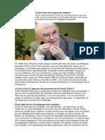 """""""Hay Que Reinventar a Paulo Freire en La Educación Superior"""""""