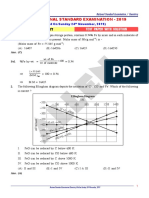 NSE 2019 Chemistry Paper With Solution Review