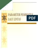 Karakteristik Lalu Lintas