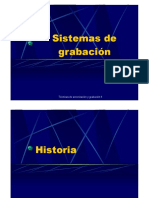 Class about recording systems (In Spanish) PDF
