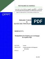 M08 - Manipulation des données avec un langage de requêtes S