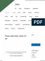 A3 8P - Fuse box