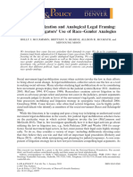 Legal Mobilization and Analogical Legal Framing