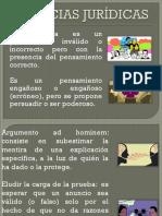 FALACIAS JURIDICAS