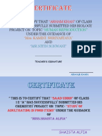 citificates and acknowledgements pdf