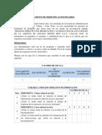 Cuestionario - Anexo 01