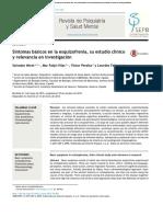 Esquizofrenia - Revista de Psiquiatría y Salud