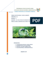 Historia Del Medio Ambiente en El Mundo y en El Perú