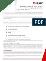 TLM8 Bulletin Megger