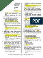 ProfEd 200 Items - SLRC - Exam Drill VI