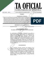 Gaceta Oficial Extraordinaria 6487