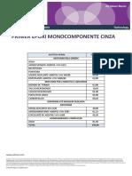 Primer Epoxy Acuoso Monocomponente Gris