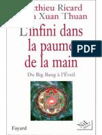 L'Infini Dans La Paume de La Main - Matthieu Ricard Et Thuan Trinh Xuan -pdf