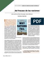 Causa del fracaso de las naciones