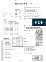 Todat starter unit test 7-8