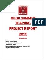 Ongc Summer Report Final