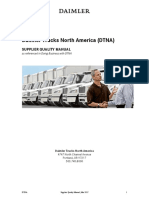 Daimler Supplier Quality Manual Sqm, Mar 2017