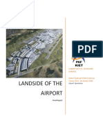 Air port operations (land side)