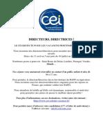 2018 11 28 Directeurs BAFD Colo CEI