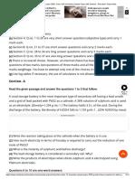 CBSE Sample Paper 2020_ Class 12th Chemistry Sample Paper