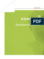 Questions & Answers on KOMVOS SDM System