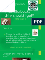 starbucks quiz