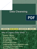 Data cleansing lecture