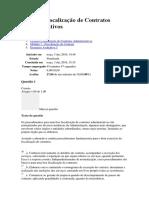 MODULO 3 - GESTÃO E FISCALIZAÇÃO DE CONTRATOS