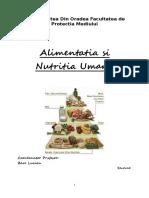 Alimentatia si Nutritia Umana.doc