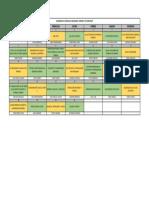 Calendario de Temas Octubre 2019