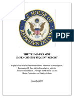 Read House Intelligence Committee Impeachment Findings
