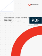 Installation Guide for the XP Scaled Topology-En