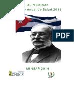 Programa de La XLIV Edición Premio Anual de Salud 2019