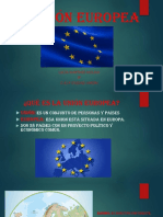 La Unión Europea 5 Primaria