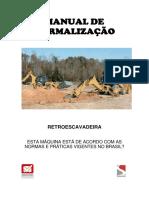 Manual Retroescavadeira