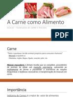 Carne como alimento