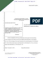 Letter To Presiding La Superior Court Judges Marina Strand V La