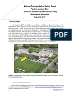 National Transportation Safety Board Report on Minnehaha Academy