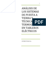 INFORME ELÉCTRICO Análisis Sistemas de Puesta a Tierra y Calidad de Energía
